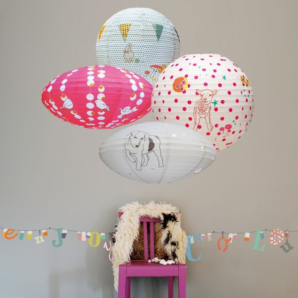 Sheep Paper Lantern from France: Kids Rooms Decoration, Sweet Muffins, Kids Bedrooms, Sheep Paper, Paper Lanterns, For Kids, Kids Spaces, New Rooms, Girls Rooms