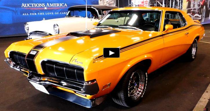 Rare 1970 Mercury Cougar Eliminator with Boss 302