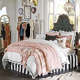 The Emily & Meritt Parisian Petticoat Quilt + Sham | PBteen