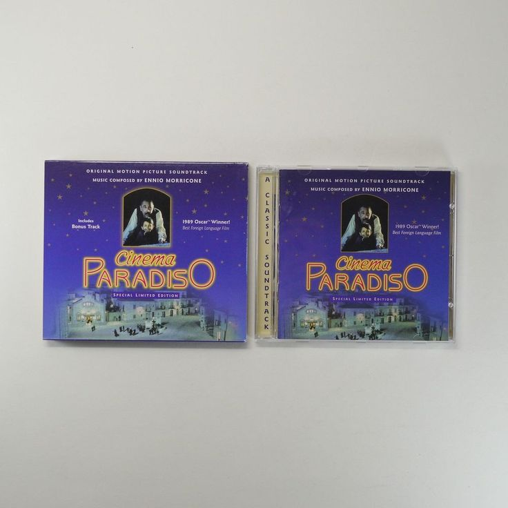 Cinema Paradiso OST [Special Limited Edition, Slip Cover, 1CD] Ennio Morricone…