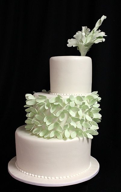 3 tier wedding cakes with flowers dramatic flower wedding cake offset three tier fondant 10328