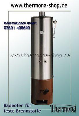 Badeofen Edelstahl Warmwasserzubereitung für mehrere Zapfstellen - 100 l Volumen | Sonstige | Wasser - Zeppy.io