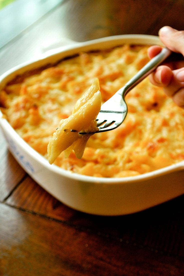 Baked Mac 'n Cheese #macncheese #macandcheese #kidfriendly