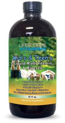 LifeSource Vitamins-Children's Liquid Multivitamins & Minerals. Great tasting with over 70 vitamins, minerals, and trace elements that your body needs for optimal health. Formulated specifically for children to meet all their nutritional needs.