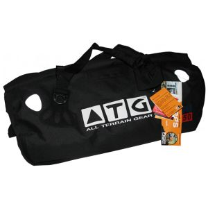 Multi-activity 50L Duffel bag  With technological advancement in fabrics and thermoplastics polyurethane (TPU) we can now offer products that are lighter, stronger, more durable and with the added bonus of being eco friendly. This bag is one of the strongest and toughest bags around!  This multi-activity duffel bag is feather light. 100% Waterproof, dust-proof, mud-proof, storm-proof, sand-proof, snow-proof.