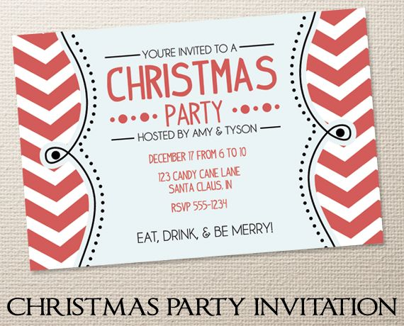 Christmas party invites!