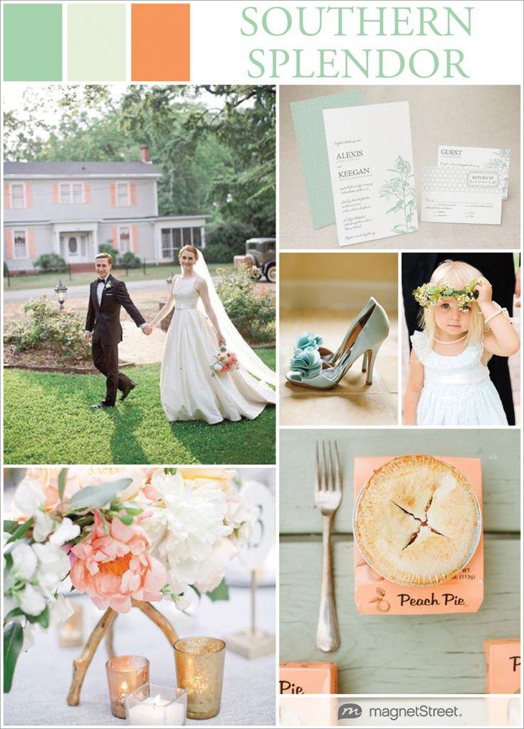Southern Wedding Inspiration + 5 Charming Southern Wedding Ideas!