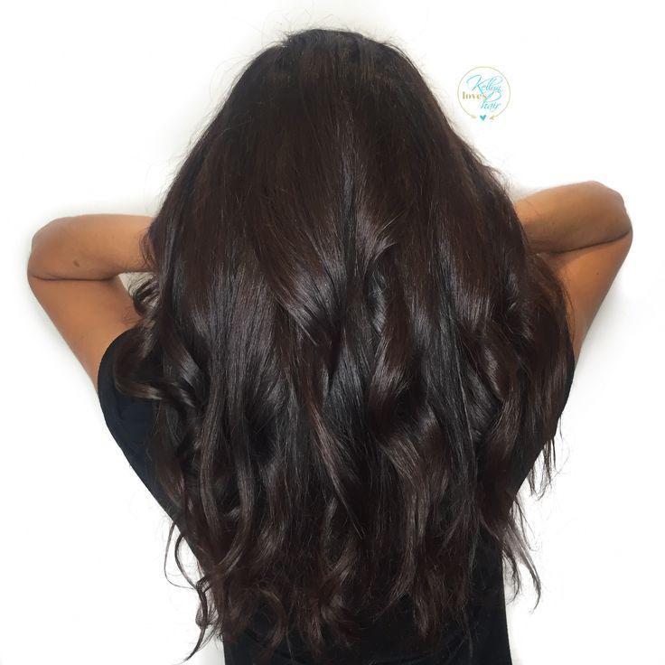 Cool Rich Dark Chocolate Brown Hair Color By Kellyn At