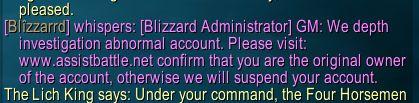Doesn't seem legit #worldofwarcraft #blizzard #Hearthstone #wow #Warcraft #BlizzardCS #gaming