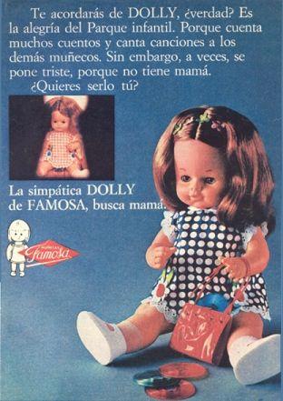 Dolly la muñeca de #Famosa #vintage #ad #dolls #toys #juguetes #publicidad #muñecas #retro