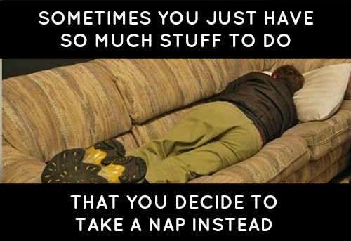 Overwhelmed   Sometimes rest may be the right thing to do for your study time