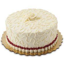 Raspberry Elegance Cake