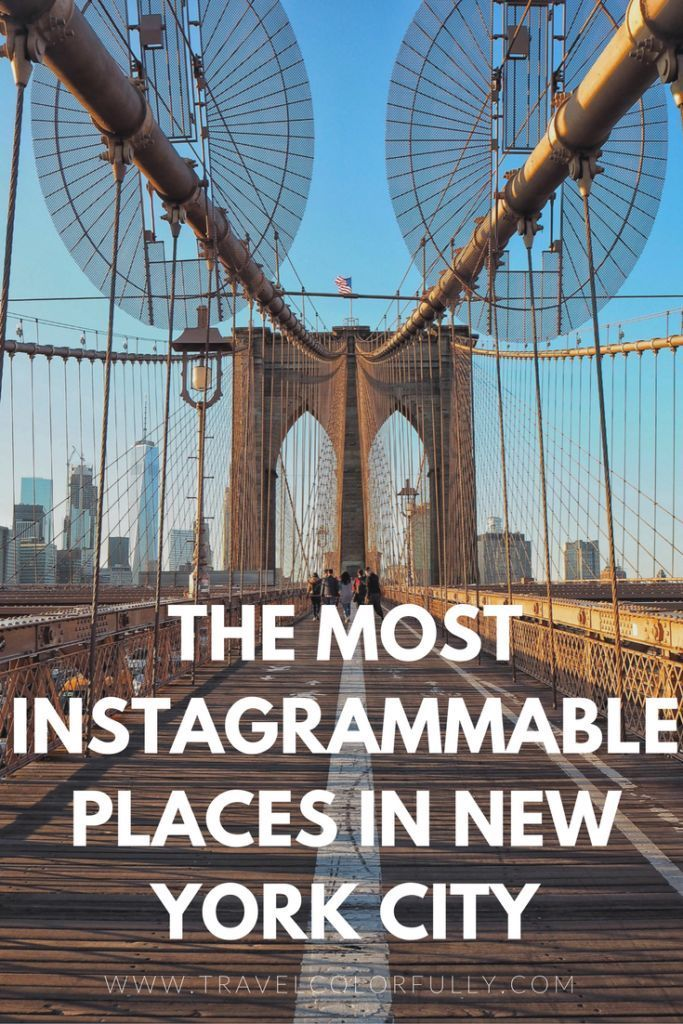 The Most Instagrammable Places In NYC 96