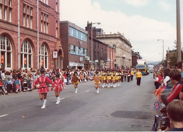 Oldham Carnival 1970s Union street