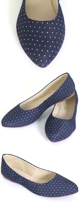 5bc600c65d Sapatilha Feminina Carmela Poa Azul Marinho.As sapatilhas podem ser usadas  em qualquer estação do ano e são garantia de conforto e…