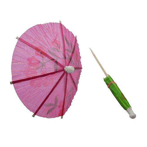 50/lot Wedding Cocktail Drinks Party Sticks Paper Parasol Umbrella New #Unbranded