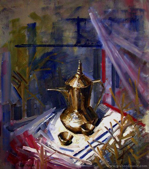 The Art of Waheed Nasir - The Kettle
