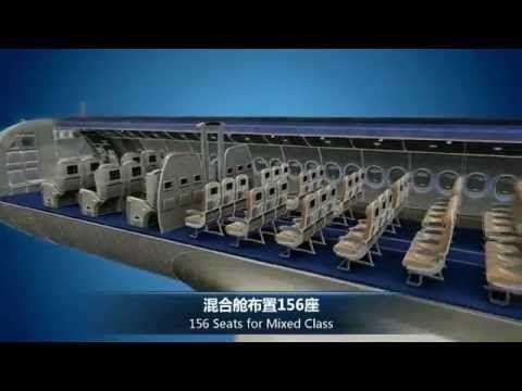COMAC C919 Introducing Video