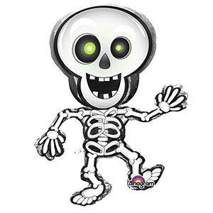 Halloween Dancing Skeleton Large Balloon - 33