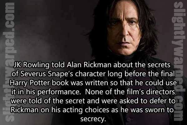 R.I.P. Alan Rickman 1 /14/16 You will be missed.