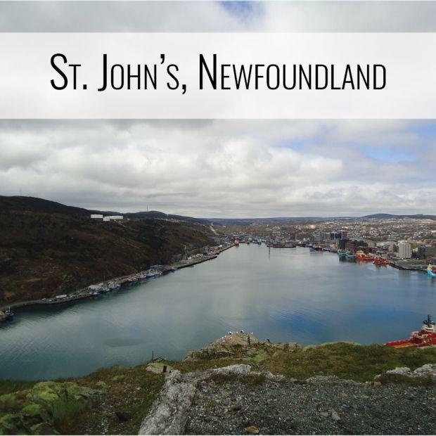 St. John's, Newfoundland and Labrador, Canada (PetiteAdventures.org)
