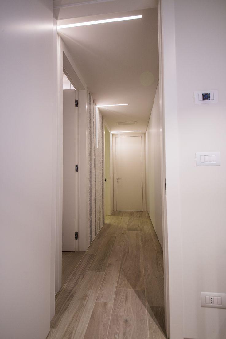 Appartamento campione corridoio interno