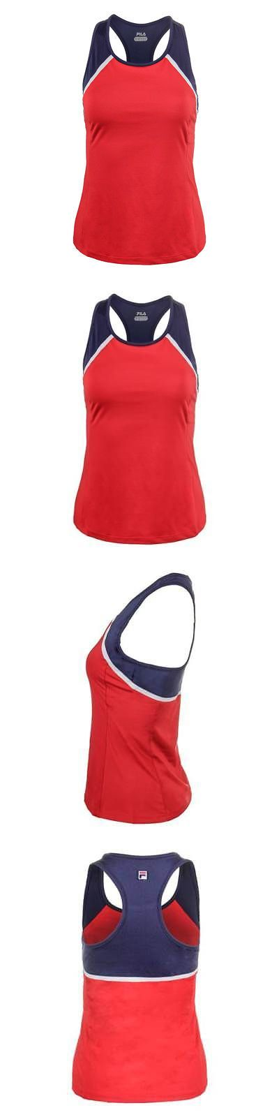 Shirts and Tops 70900: Fila - Women`S Heritage Racerback Tennis Tank Chinese Red - (Tw171vx4-622S17) -> BUY IT NOW ONLY: $46.74 on eBay!