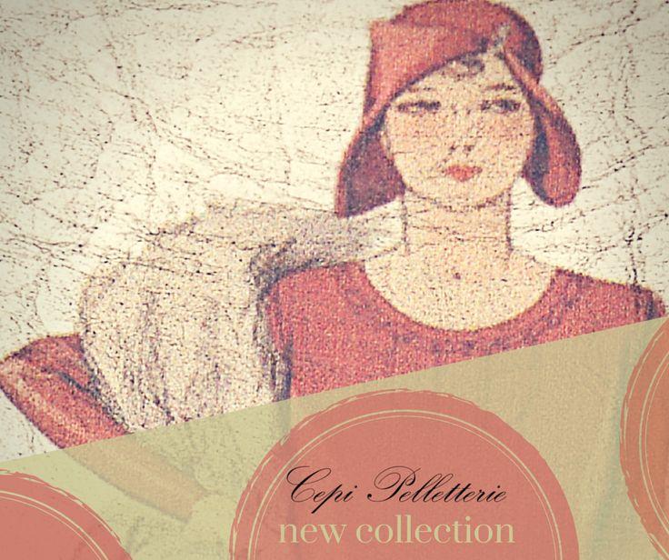 Una piccola anteprima della nuova collezione #CepiPelletterie! #MadeInItaly #accessori