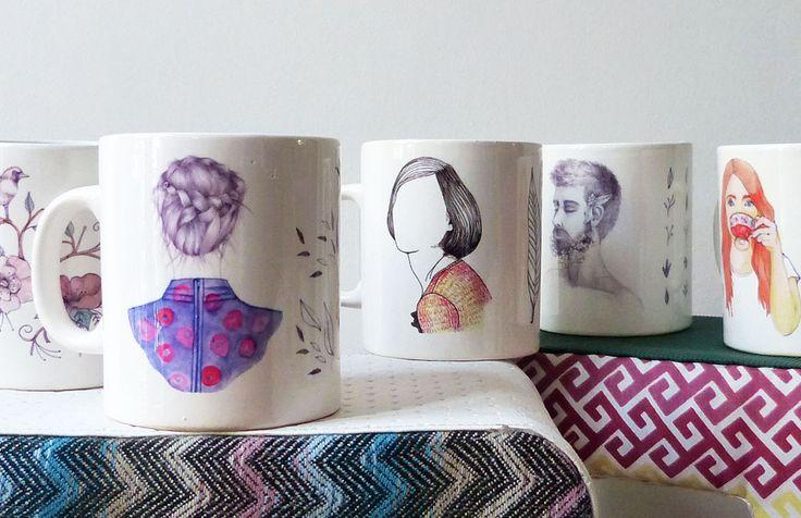 GABI PISERCHIA Reproducciones enmarcadas, tazas sublimadas y remeras de autor. http://charliechoices.com/gabi-piserchia/