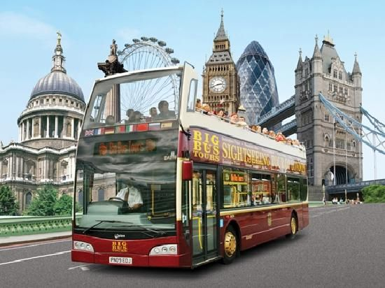 Big Bus Tours - open-top sightseeing bus tours of London