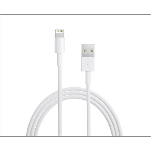 Apple® - 6.6' Lightning-to-USB 2.0 Cable - Larger Front