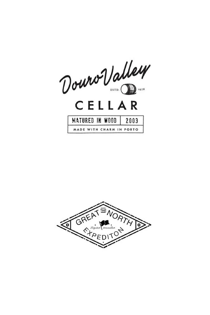 Logotype for a wine cellar & a logo for traveller expedition brand.