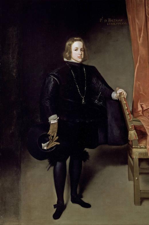 Juan Bautista Martínez del Mazo. El príncipe Baltasar Carlos, 1645 - 1646