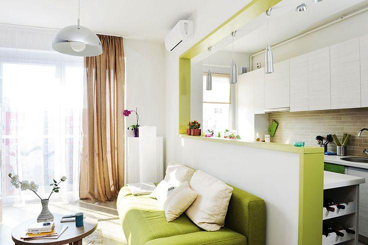 Garsonieră transformată în apartament cu două camere