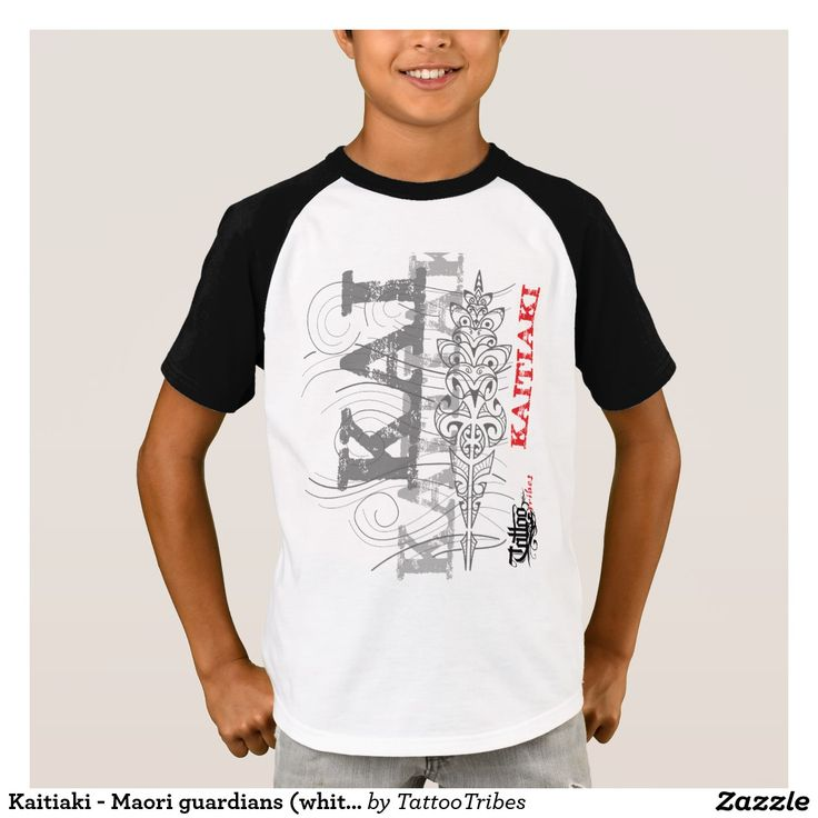 Kaitiaki - Maori guardians (white t-shirt)