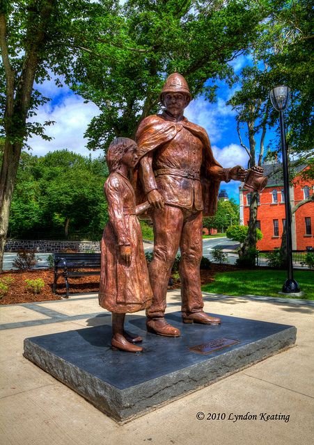 Royal Newfoundland Constabulary Legacy statue , St. John's , Newfoundland | Flickr - Photo Sharing!