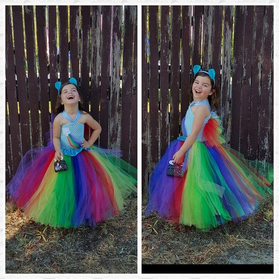 Rainbow Tutu Inspired Rainbow dash costume by FunkidsandUsBoutique