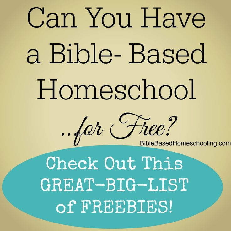 BIG List of Bible Based FREEBIES http://biblebasedhomeschooling.com/big-list-bible-based-freebies/