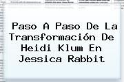 http://tecnoautos.com/wp-content/uploads/imagenes/tendencias/thumbs/paso-a-paso-de-la-transformacion-de-heidi-klum-en-jessica-rabbit.jpg Heidi Klum. Paso a paso de la transformación de Heidi Klum en Jessica Rabbit, Enlaces, Imágenes, Videos y Tweets - http://tecnoautos.com/actualidad/heidi-klum-paso-a-paso-de-la-transformacion-de-heidi-klum-en-jessica-rabbit/