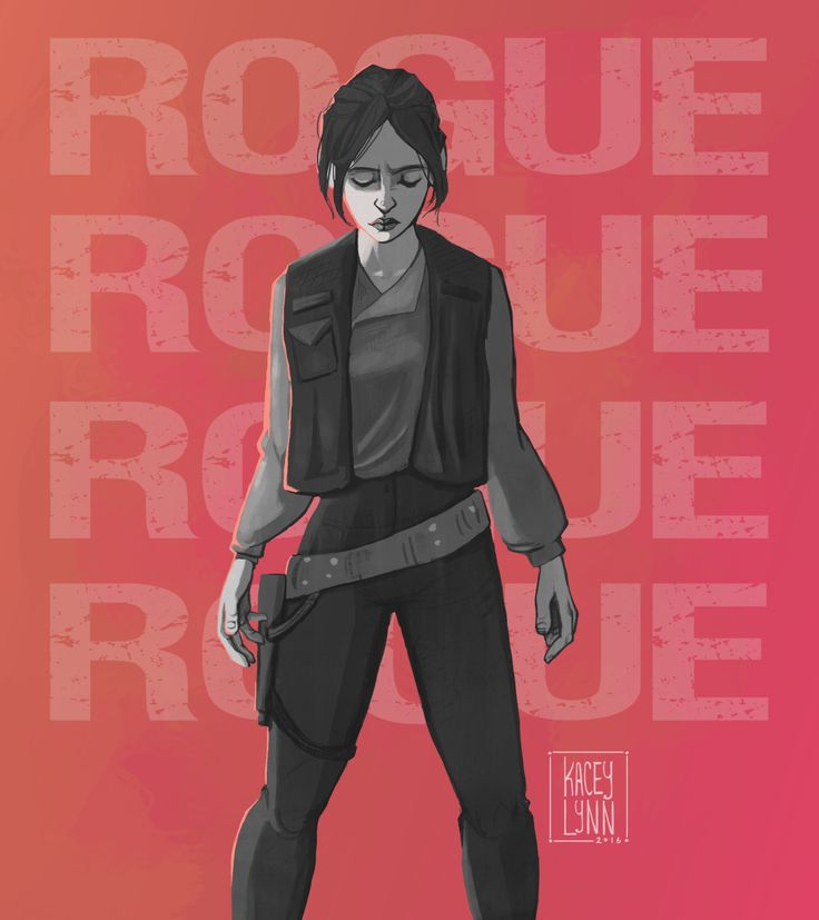 ROGUE ONE Fan Art Celebrates Everyone's Favorite New Star Wars Character | Geek and Sundry