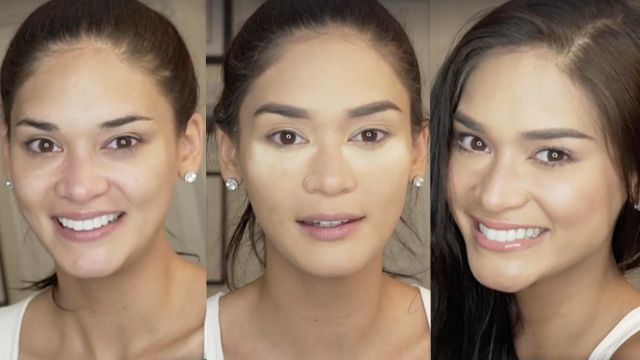 Pia posts a makeup tutorial on Facebook, showing you how to do her everyday makeup look