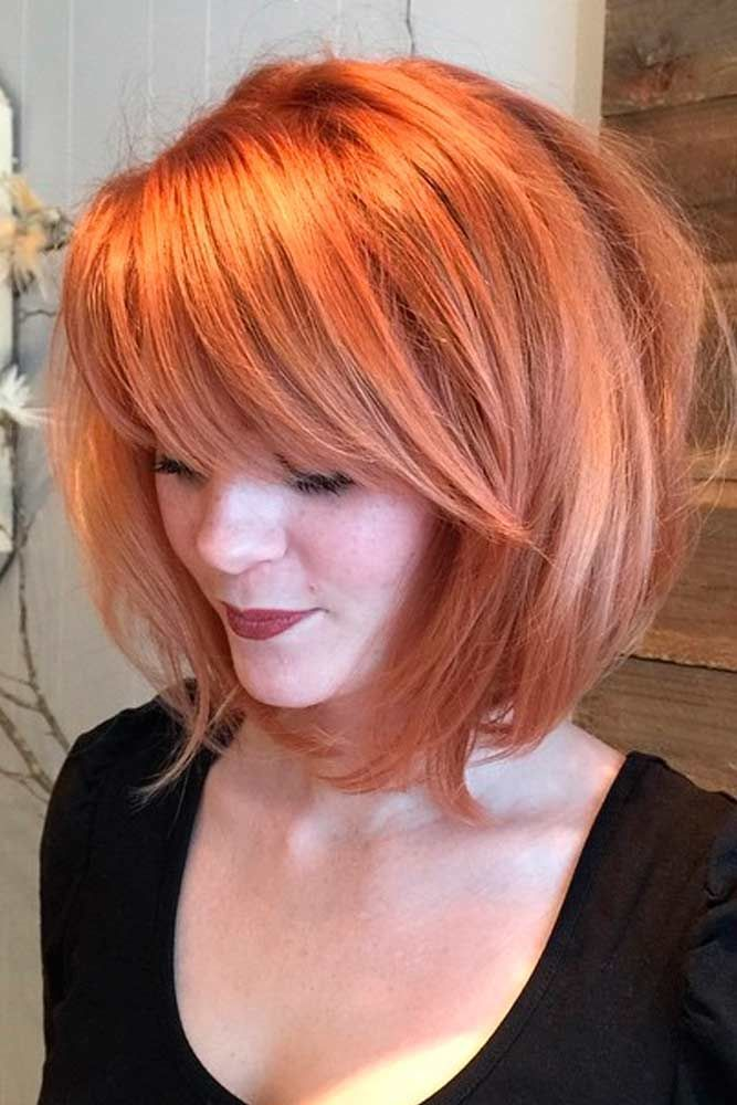 short to mid length hair styles best 25 side bangs ideas on side fringe side 8947 | beeda4e78c556aec45c2147a2ebf946d bangs hairstyles for round faces short hair with bangs for round faces