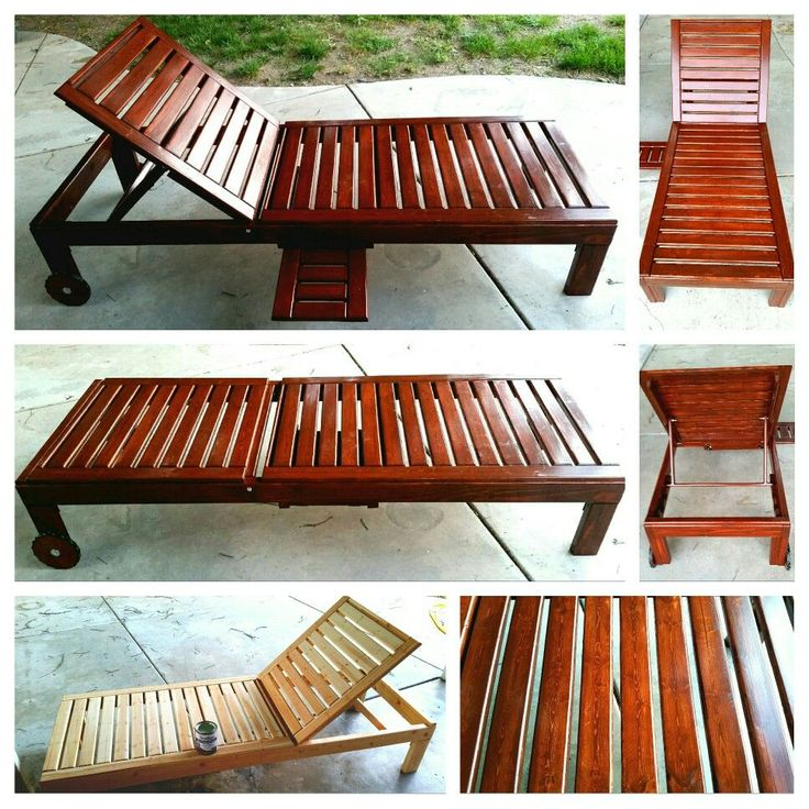 DIY Patio Lounge Chair • Similar designs cost 200+...only