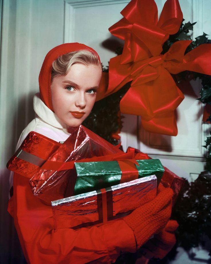 цветное фото ретро рождество