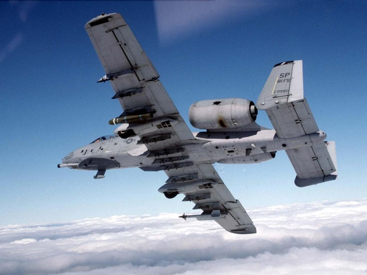 A10 Underside View Aircraft, Military aircraft, Fighter