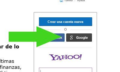 iniciar sesion yahoo con gmail google