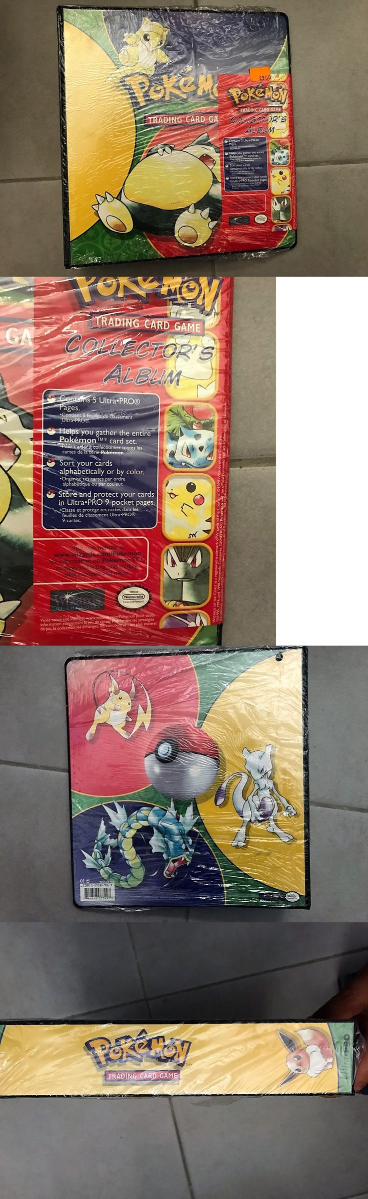 Other Pok mon TCG Items 2608: Rare !!! 1999 Vintage Pokemon Trading Card Game Binder - Factory Sealed Nintendo -> BUY IT NOW ONLY: $39 on eBay!