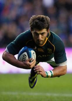 Willie Le Roux: there's no denying it, he played an amazing game tonight against Scotland (and we loved to hate him for it)