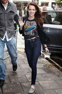 Kristen Stewart  Une des icônes du style \u0026quot;garçon,manqué\u0026quot; selon Glamour Magazine