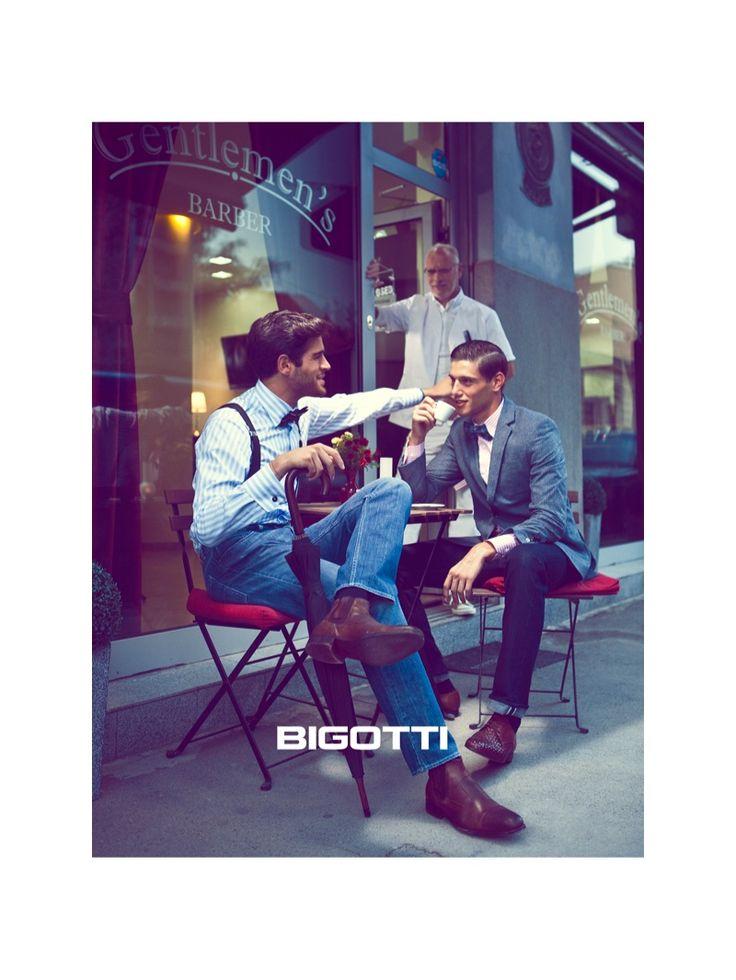 bigotti fall winter 2013 campaign 0005 Marco Castelli, Thibault Theodore, Matteo Scalvini & Stefano Sala for Bigotti Fall/Winter 2013 Campai...